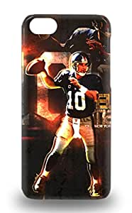 Tpu 3D PC Case Cover For Iphone 5c Strong Protect 3D PC Case NFL New York Giants Eli Manning #10 Design ( Custom Picture iPhone 6, iPhone 6 PLUS, iPhone 5, iPhone 5S, iPhone 5C, iPhone 4, iPhone 4S,Galaxy S6,Galaxy S5,Galaxy S4,Galaxy S3,Note 3,iPad Mini-Mini 2,iPad Air )