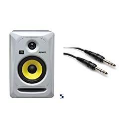 KRK Rokit 5 Studio Monitor Two Pack (White)