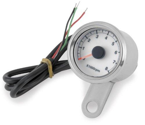 Bikers Choice Electronic L.E.D. Mini Tachometer - One Size
