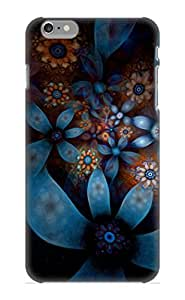 Iphone 6 Plus Case Cover - Slim Fit Tpu Protector Shock Absorbent Case (abstract Fractal)
