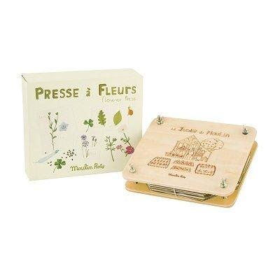 Moulin Roty Le Jardin Flower Press -