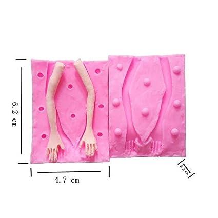 Amazon.com: Moldes de silicona para repostería, fondant ...