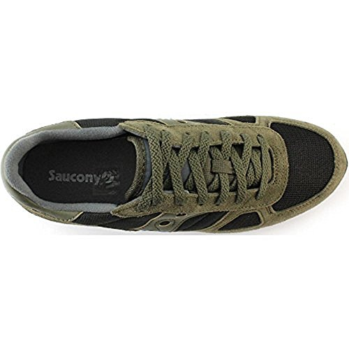 Olive Black Noir Shadow Homme Original Basses Saucony Baskets YU6gq