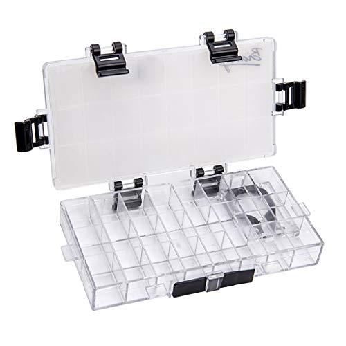 Baoblaze ペイントボックス パレットボックス 蓋付き 水彩 アクリル用 ペイント用 24格
