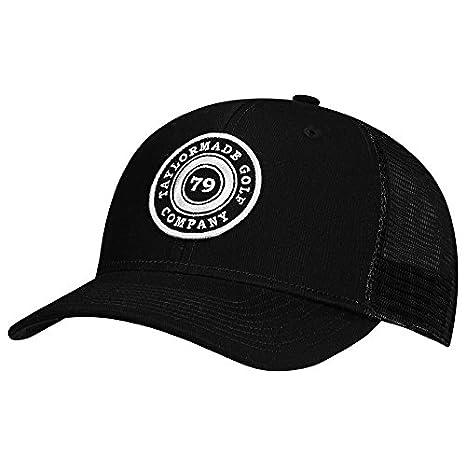 Amazon.com  TaylorMade Golf 2017 lifestyle truck hat black  Sports ... dfe5f3732cf7