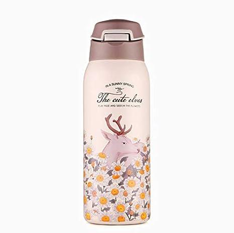 DDUUOO Historieta Linda Botella Termo 350 ml Botellas de ...