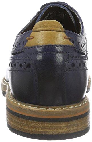 Blu Clarks Basse Uomo Oxford Scarpe Stringate Pitney Leather Limit Blue Pw0qxrI0f