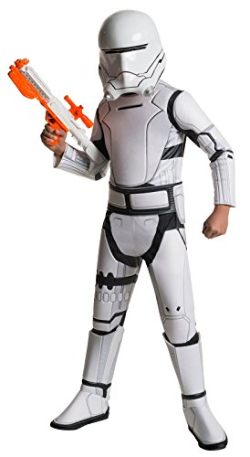 Girl Movie Character Costume Ideas (Star Wars: The Force Awakens Child's Super Deluxe Flametrooper Costume, Medium)