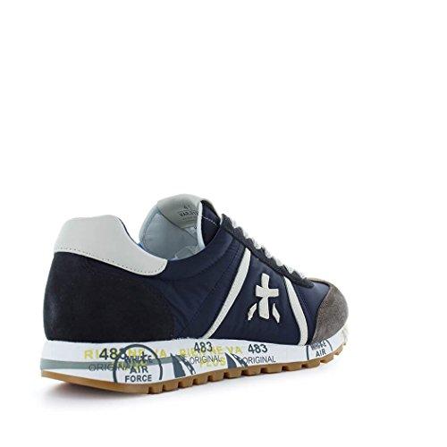 PREMIATA Sneakers Uomo LUCY3132 Tessuto Blu/Grigio