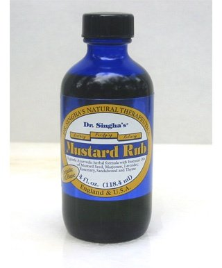 Dr Singha's Mustard Rub, 6 Ounce by Dr. Singha's