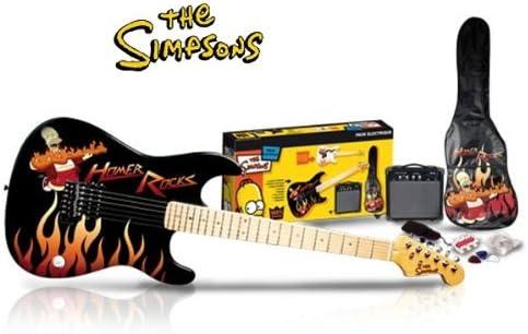 DECOMEUBLE Pack Guitarra Eléctrica The Simpson s: Amazon.es: Hogar