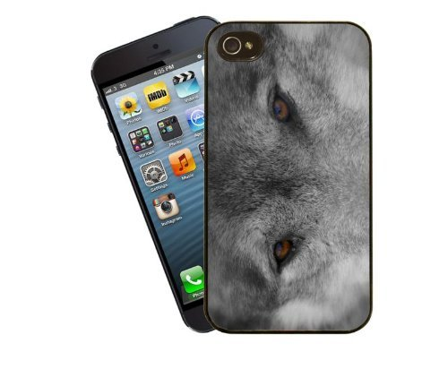 Eclipse Gift Ideas Wolf Eyes-Coque pour iPhone 4/4s