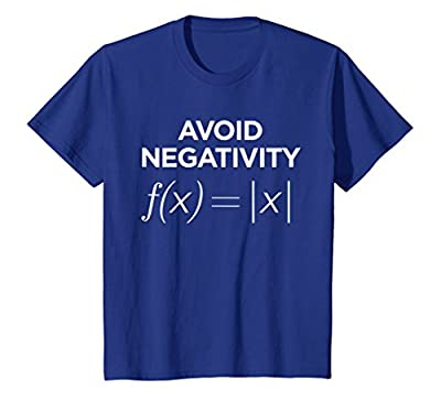 Avoid Negativity Math Equation Shirt Funny Math Teacher Gift