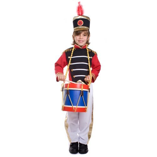 Childrens Drum Major Costume (Drum Major Children's Costume Size: Toddler 4 (3 -4 Years) by Dress Up America)