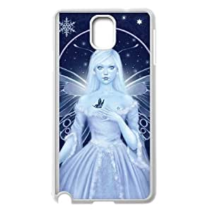 Winter Fairy with Snowflakes Samsung Galaxy Note 3 Cell Phone Case White DIY TOY xxy002_865078