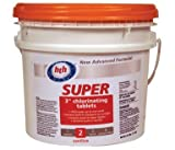 HTH 41237 3-Inch Super Chlorinating Tablets, 24-1/2-Pound
