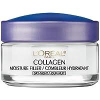 L'Oreal Paris Collagen Moisture Filler Day/Night Cream, 1.7 Ounce (Pack of 2)
