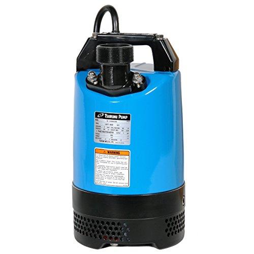 Tsurumi LB-800A; Automatic Operation, Portable dewatering Pump, 1hp, 115V, 2