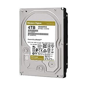 "WD Gold 4TB Enterprise Class Internal Hard Drive - 7200 RPM Class, SATA 6 Gb/s, 256 MB Cache, 3.5"" - WD4003FRYZ"