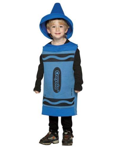 Crayola Crayon Baby Infant Costume Blue - (Crayon Costume Toddler)