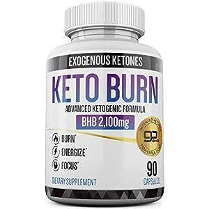 Keto Pills – 3X Dose (2100mg | 90 Capsules) Advanced Keto Burn Diet Pills – Best Exogenous Ketones BHB Supplement – Max Strength Formula