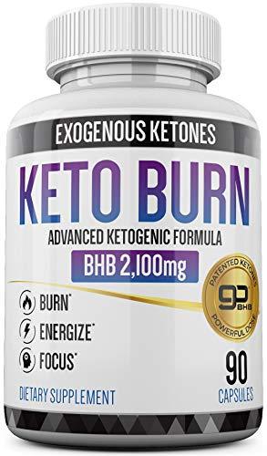 Keto Pills - 3X Dose (2100mg | 90 Capsules) Advanced Keto Burn Diet Pills - Best Exogenous Ketones BHB Supplement - Max Strength Formula Keto Caps