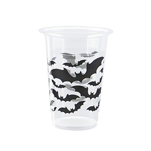 Black Bats Halloween Party Cups, 8 Ct.]()