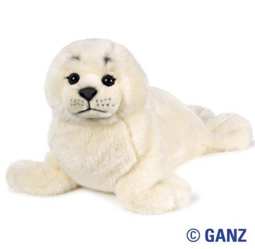 Webkinz Seal (Webkinz Signature Harp Seal November 2010 Release + 12-Pack Glow In The Dark Animals Kids Wristbands by Pii!!!)