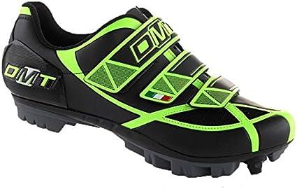 Zapatillas DMT robur MTB Negro/Amarillo Fluo N ° 41: Amazon.es ...