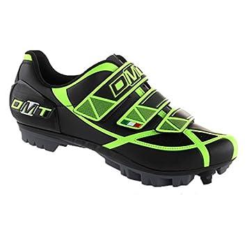 Zapatillas DMT robur MTB Negro/Amarillo Fluo N ° 41: Amazon.es: Deportes y aire libre