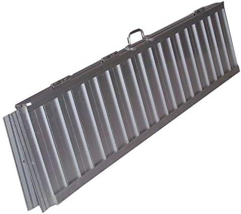 leichte Aluminium Rampe 06146 Alu Rollstuhlrampe 150cm klappbar Rampe 1,5m Rollirampe Auffahrrampe Laderampe