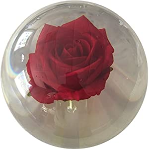 KR Clear Red Rose Bowling Ball- 14lbs