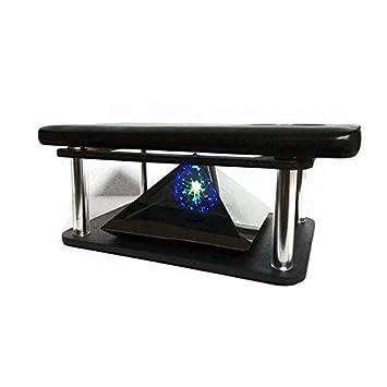 Alftek - Proyector holográfico 3D con Forma de pirámide para ...
