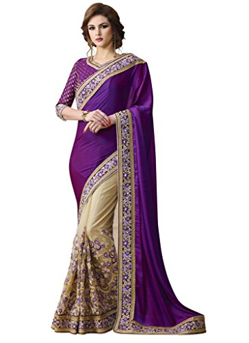 Aarah Women's Ethnic Handmade Festive Special Saree Free - Shopping Indian Online
