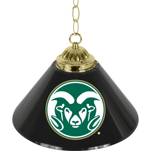 NCAA Colorado State University Single Shade Gameroom Lamp, 14'' by Trademark Gameroom