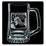 The Walking Dead Etched Glass Stein-Fresh Meat
