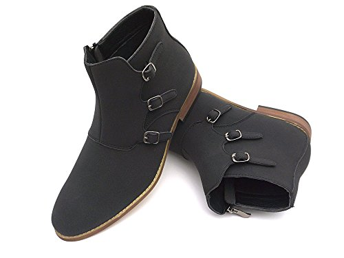 Mens Boots With Buckles - 2