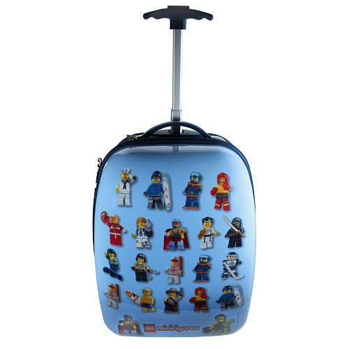 LEGO MiniFigures Hard Shell Rolling Luggage Case