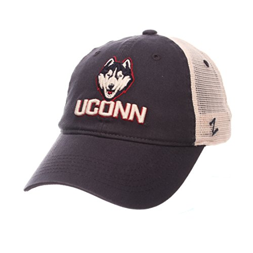 (Uconn Huskies Official NCAA University Adjustable Hat Cap by Zephyr 585917)
