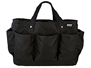 High Quality Deluxe Gardening Tote Bag (Black)