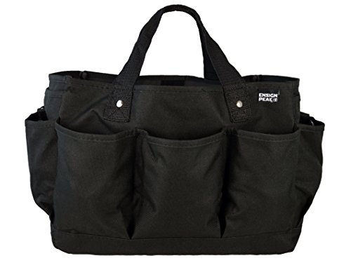 Deluxe Gardening Tote Bag Black product image