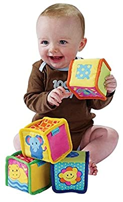 Small World Toys Baby Knock-knock Blocks | Educational Computers
