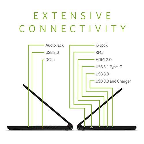 "Acer Nitro 5 Gaming Laptop, 9th Gen Intel Core i5-9300H, NVIDIA GeForce GTX 1650, 15.6"" Full HD IPS Display, 8GB DDR4, 256GB NVMe SSD, WiFi 6, Backlit Keyboard, AN515-54-5812 (Renewed)"