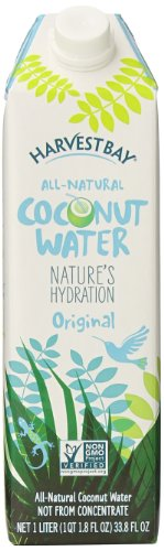 Harvest Bay Coconut Water, 33.8 Ounce (Pack of - Coconut Water Bay Harvest