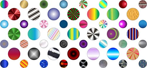 StickerTalk Variety Camera Dots Webcam Covers, 1 Sheet of 32 Stickers at .25 inches Diameter, 21 Stickers at .375 inches Diameter.
