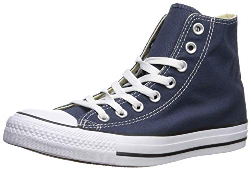 Converse Womens All Star Hi High Top Chuck Taylor Chucks Trainers - Navy - 9.5