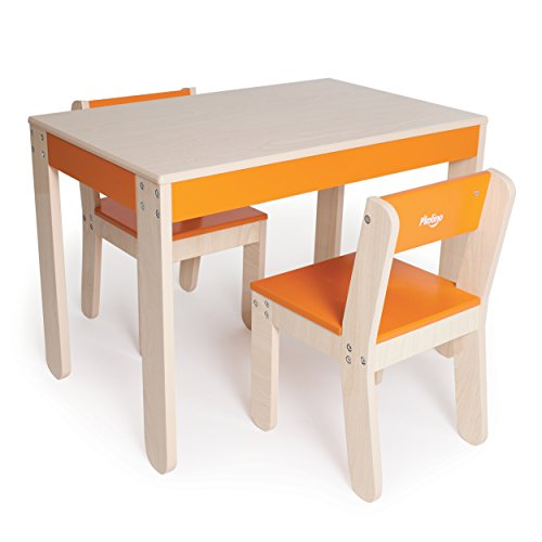 P'kolino Little One's Table and Chairs, Orange by P'Kolino