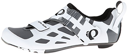 Pearl Izumi Tri Triathlon Carbon Fly V Hombres Zapatos White-Black