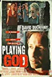 PLAYING GOD Original Movie Poster 27x40 - DS - David Duchovny - Timothy Hutton - Angelina Jolie - Michael Massee
