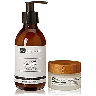 Dr Botanicals Advanced Body Cream and Free Radical Protecting Daily Moisturiser, 200 Gram